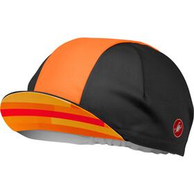 Castelli A Bloc Cap black/orange